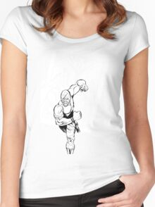 Vigil Pinup #4 T-Shirt Women's Fitted Scoop T-Shirt
