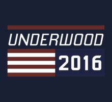 Underwood for president 2016. T-Shirt