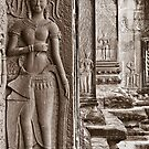 Apsaras - Angkor Wat, Cambodia by Stephen Permezel