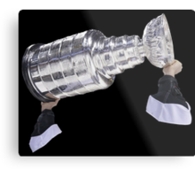 Hoisting the Cup Metal Print