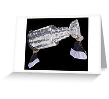 Hoisting the Cup Greeting Card