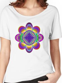 The rainbow flower Women's Relaxed Fit T-Shirt