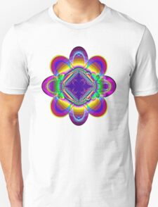 The rainbow flower T-Shirt