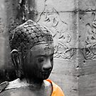 Angkor Buddha by Ine Beerten