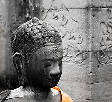 Angkor Buddha by Ine Beerten