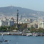 View of Barcelona by David Fulton