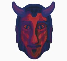 Devil/Demon Head - Available in variety of Products Kids Clothes