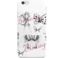 Vintage Beauty iPhone Case/Skin