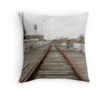 Port Mac Jetty Throw Pillow