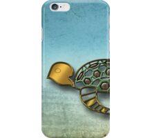 The Metal Aquarium  Turtle iPhone Case/Skin