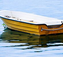 Yellow Row Boat by Mary Carol Story