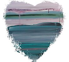 Lucky Ones - Abstract Heart Photographic Print