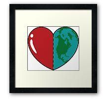 Love This World Framed Print