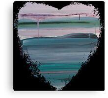 Lucky Ones - Abstract Heart II Canvas Print