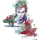 Watercolor Doctor Ten by Tracey Gurney