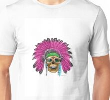 Skull - The Effects of Antibiotics  Unisex T-Shirt