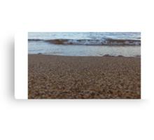 Lake Superior Receding Wave Canvas Print