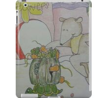 Aswald The Anteater At The Fruit Grove iPad Case/Skin