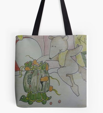 Aswald The Anteater At The Fruit Grove Tote Bag