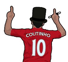 Phil Coutinho - Magician by JuzaShannonNew