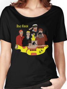 Das Yellow Boot Women's Relaxed Fit T-Shirt