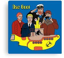 Das Yellow Boot Canvas Print