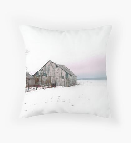 Country Scene Throw Pillow