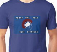 Punks Not Dead Just Mentally Ill Unisex T-Shirt