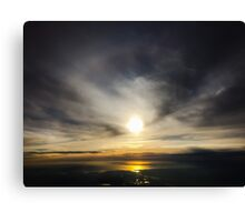 Morning In New Jersey Canvas Print