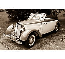 DKW F8 700 Convertible Photographic Print