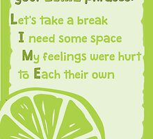LIME phrases by raizepeace