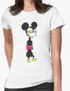 PSYCHO Mickey Womens Fitted T-Shirt