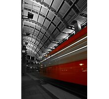 Red Trolley #2 Photographic Print