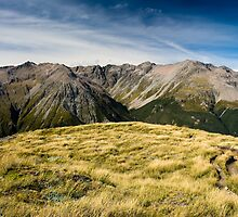 mountains at avalanche peak by peterwey