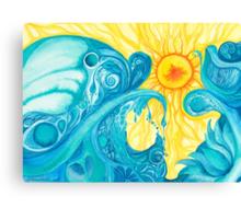 A Light Embraced Canvas Print