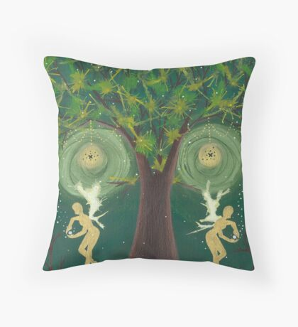 Interlude of the Doppelganger Throw Pillow