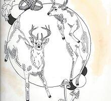 Deer Design by SPillustration