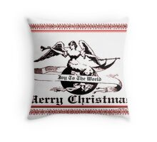 ~ JOY TO THE WORLD ~ MERRY CHRISTMAS ~ Throw Pillow