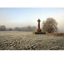 Dysart O Dea Celtic Cross Photographic Print