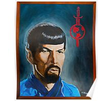 Mirror Mirror Spock Poster