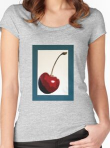 Cherry- Warhol Women's Fitted Scoop T-Shirt