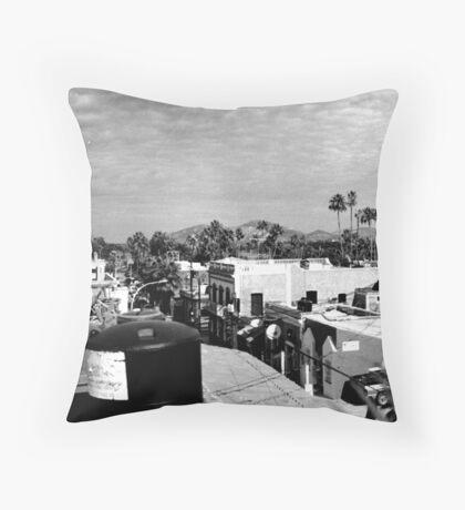 Townscape Throw Pillow