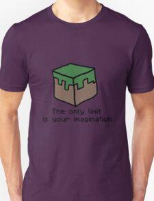 Minecraft Imagination Quote Unisex T-Shirt