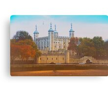 Ancient Tower Of London Canvas Print