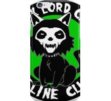 DARK LORD CAT FELINE CLUB iPhone Case/Skin