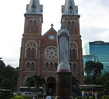 The famous cathedra in Ho Chi Minh by MightyMike