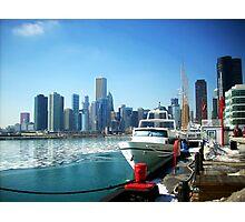 Harbor At Navy Pier Photographic Print