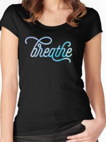 Breathe Women's Fitted Scoop T-Shirt