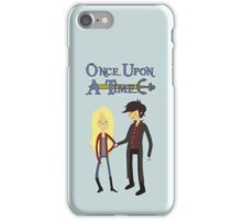 Once Upon An Adventure Time iPhone Case/Skin
