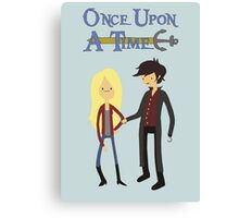 Once Upon An Adventure Time Canvas Print